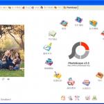 [免費] 照片編輯軟體-Photoscape