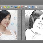 [免費] FotoSketcher 2.0 照片特效處理軟體