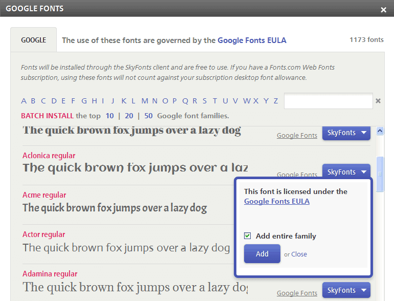 download webfonts