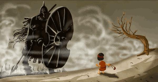 巨人與大衛故事