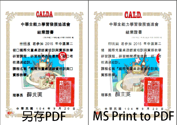 print to pdf vs save as pdf
