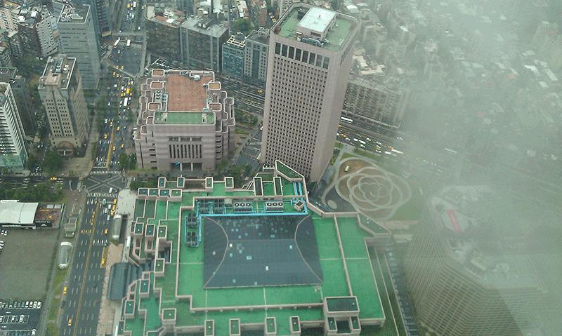 101大樓鳥瞰圖