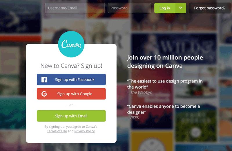 線上設計軟體-Canva